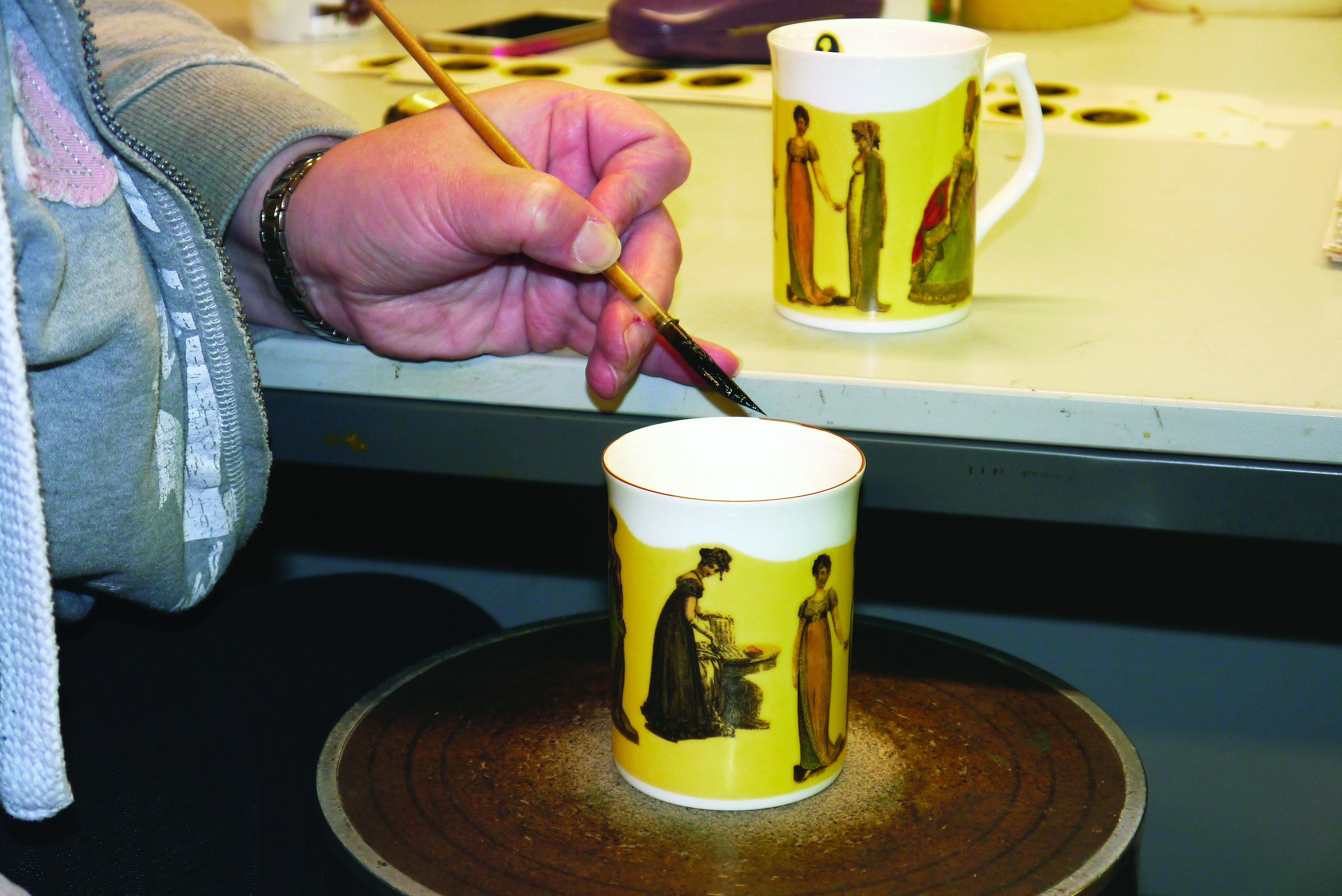Gilding Mugs Impact China